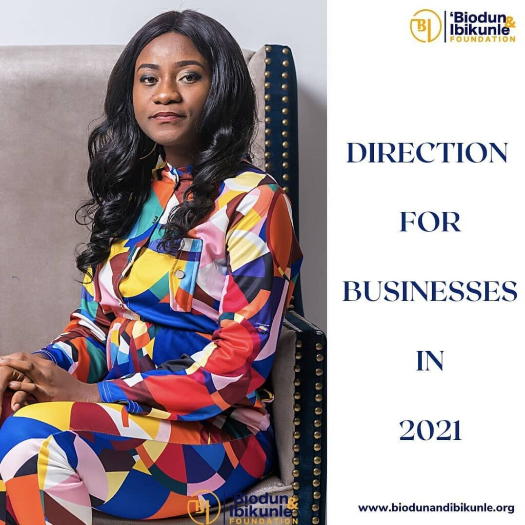 Direction for Businesses in 2021